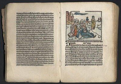 "Johannes Brugman's ""Life of St Lidwina"", printed in Schiedam in 1498."