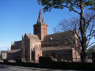 St Magnus Cathedral today