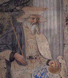 St Sigismund: Fresco by Piero della Francesca