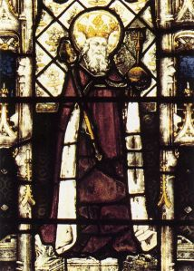 Ethelbert of Kent, from All Souls College Chapel, Oxford