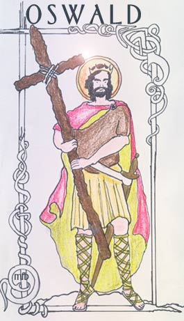 Image from the website of the Diocese of Hexham and Newcastle, http://www.rcdhn.org.uk/about_the_diocese/saints/oswald.php